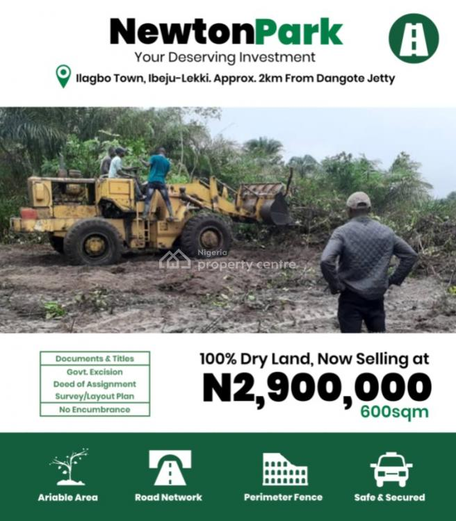 Land with Government Approved Excision, Ilagbo Town, Ibeju Lekki, Lagos, Mixed-use Land for Sale