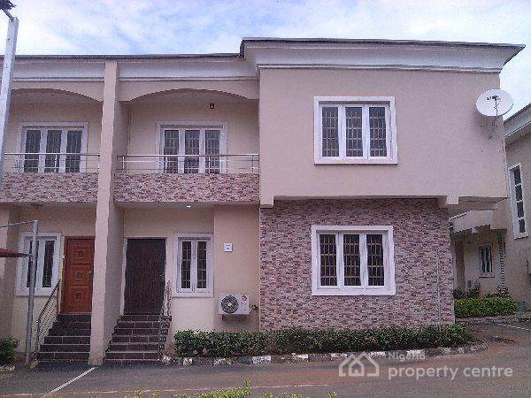 a Nicely Finished 4 Semi Detached Duplex with Bq (serviced), Kaura, Abuja, House for Rent