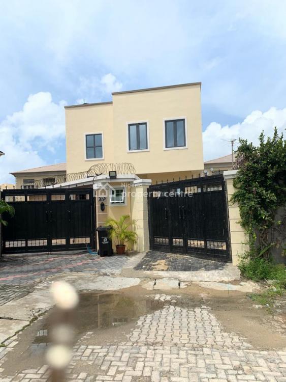 Brand New and Tastefully Finished 3 Bedroom Fully Detached Duplex + Bq, Lekki, Lagos, Detached Duplex for Sale