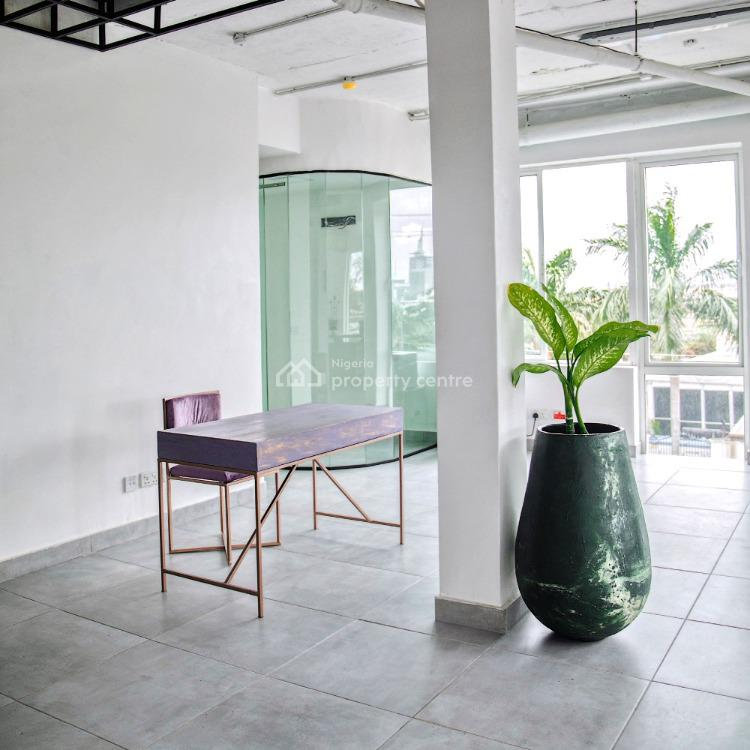Private New-york Style Themed Office, Off Admiralty, Lekki Phase 1, Lekki, Lagos, Office Space for Rent