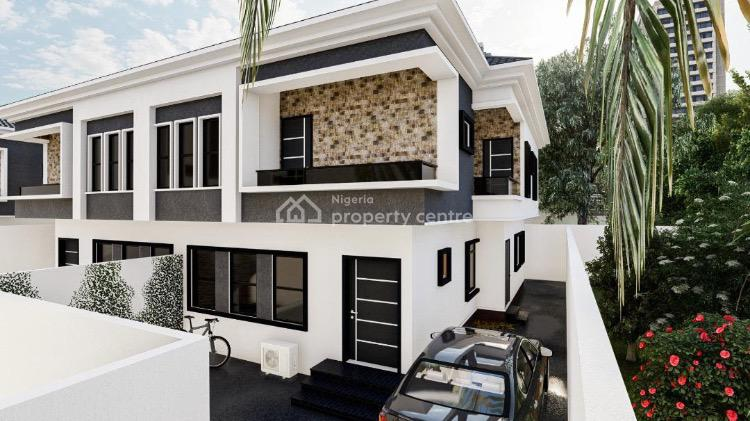 Newly Built Luxurious 4 Bedroom Duplex with a Bq, Silver Spring Estate, Agungi, Lekki, Lagos, Semi-detached Duplex for Sale