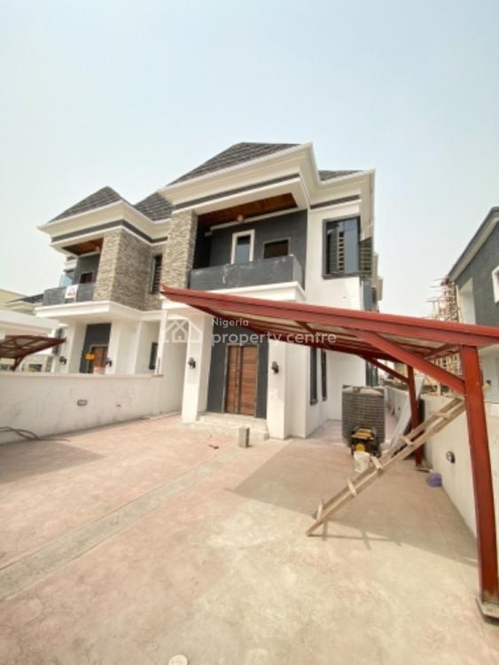 Exquisitely Built 4 Bedroom Semi Detached Duplex with Bq, Ikota, Lekki, Lagos, Detached Duplex for Sale
