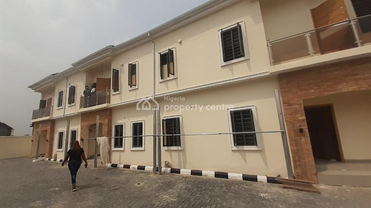 4 Bedroom Semi Detached Duplex with Bq, Before Lagos Business School, Ajah, Lagos, Semi-detached Duplex for Sale