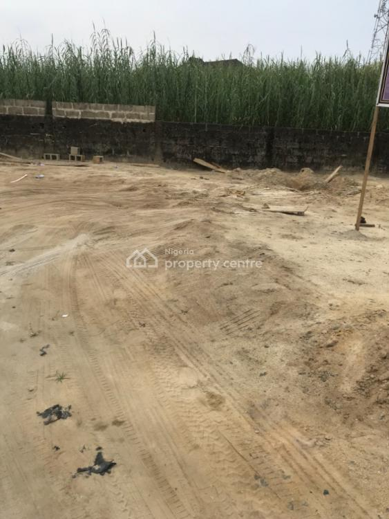 Very Dry and Sand-filled Half Plot of Land, Ado, Ajah, Lagos, Residential Land for Sale