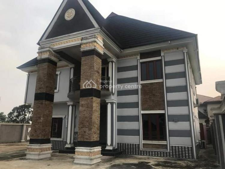 Luxurious and Tastefully Finished 5 Bedroom Duplex with 2 Rooms Bq, Gas Estate, Uzuoba, Port Harcourt, Rivers, Detached Duplex for Sale