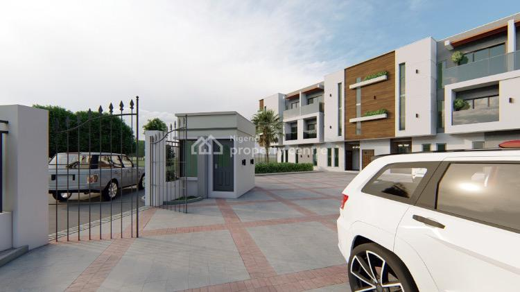 Off Plan Exquisite Units of 3 Bedroom Terraced Duplex with a Room Bq., Ikate, Lekki, Lagos, Terraced Duplex for Sale