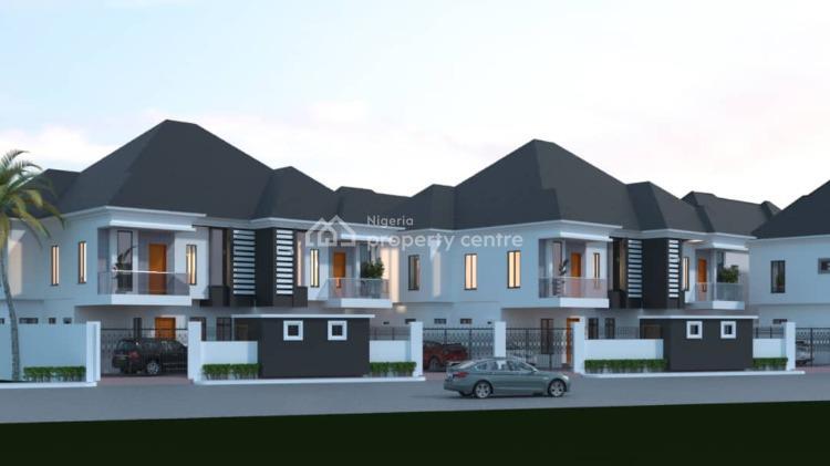 Luxury 4 Bedroom Semi Detached Duplex with Bq, Orchid Road, Lekki, Lagos, Semi-detached Duplex for Sale
