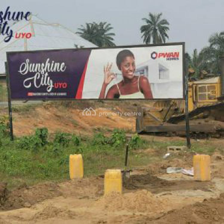 Plots of Land, Sunshine City Utuk Mbang Uruan Lga Along Airport Road, Uruan, Akwa Ibom, Residential Land for Sale