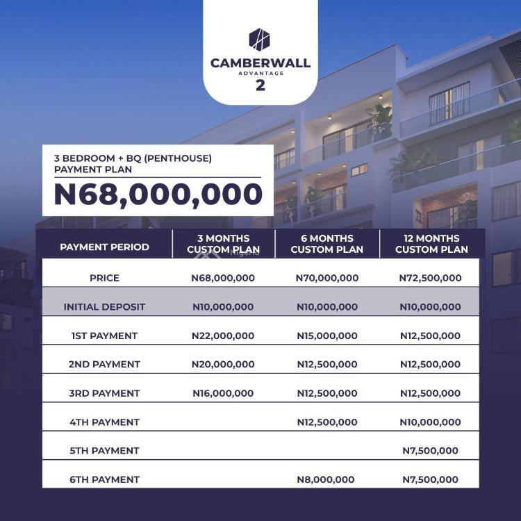3 Bedroom with Penthouse, Ikate Elegushi, Lekki, Lagos, House for Sale