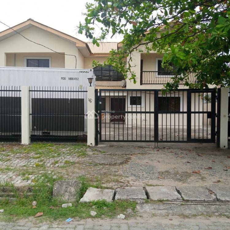 New Refurbished 4 Bedrooms Ground Floor Flats Plus 3 Bedroom Bq, Tunde Kuboye Street, Lekki Phase 1, Lekki, Lagos, Flat for Rent