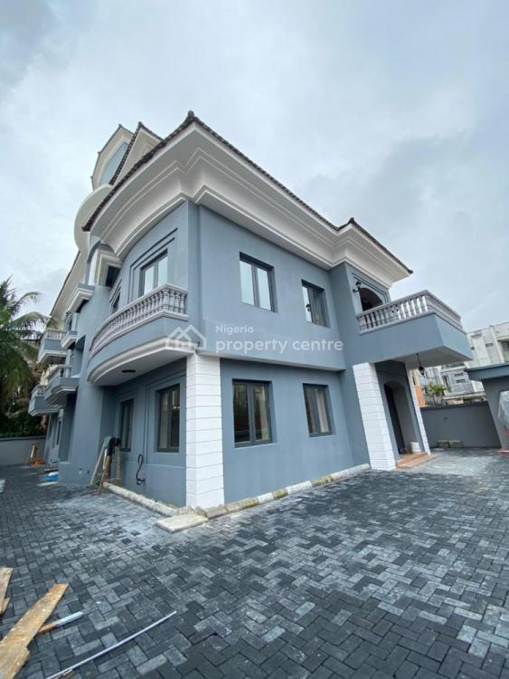 Newly 5 Bedroom Detached with with 2 Room Bq on 600 Sqm with Mordern, Old Ikoyi, Ikoyi, Lagos, Detached Duplex for Sale