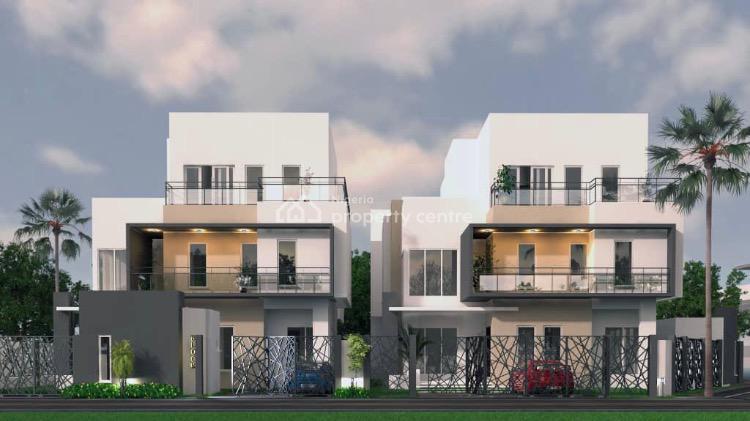 Off Plan Luxury 5 Bedroom Detached Duplex with 2 Rooms Bq, Lekki Phase 1, Lekki, Lagos, Detached Duplex for Sale