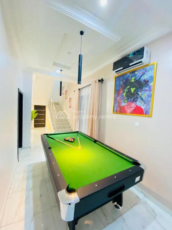 Luxury 3 Bedroom Duplex with a Topnotch Finishing and a Snooker Board, Ikate, Lekki, Lagos, Semi-detached Duplex Short Let