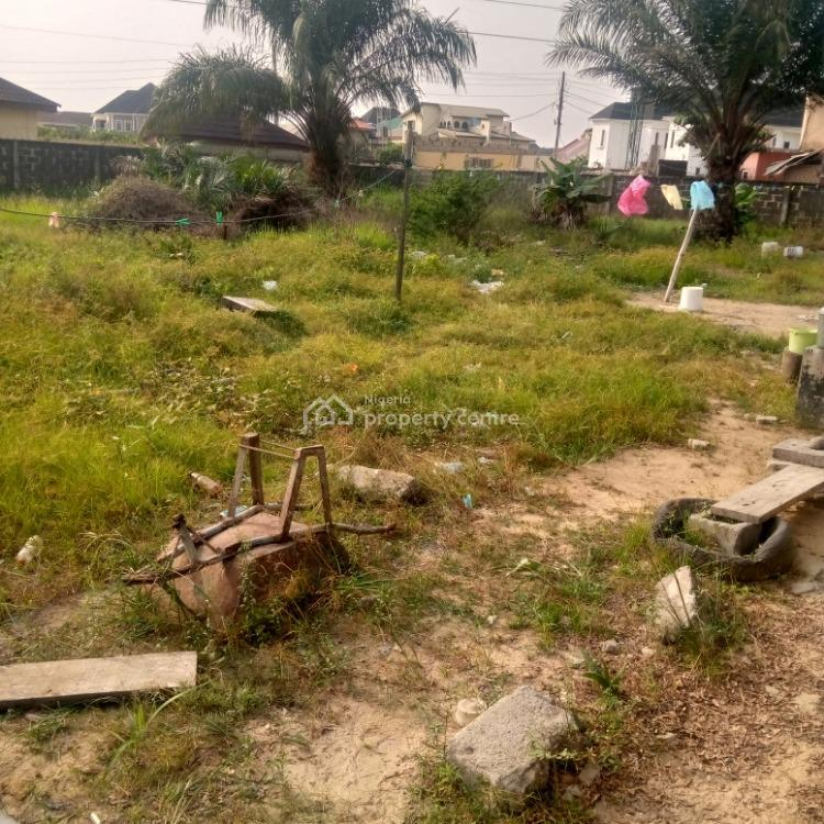 a Dry Plot of Land, Well Fenced, Thomas Estate, Ajah, Lagos, Residential Land for Sale