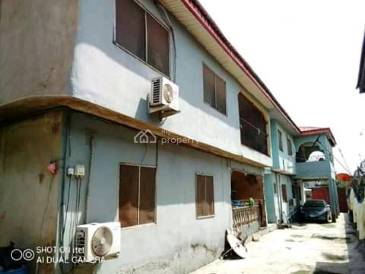 Executive Standard Block of 6 Flats on Full Plot in a Serene Area, Akowonjo, Alimosho, Lagos, Block of Flats for Sale