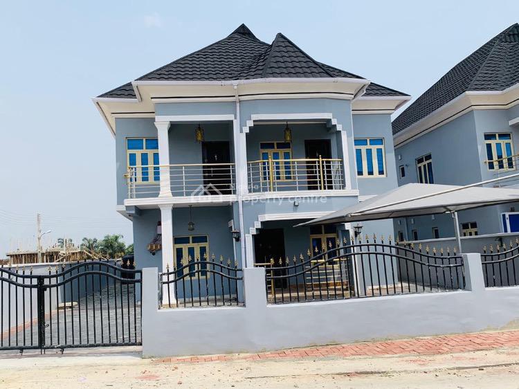 Luxury 4 Bedroom Fully  Detached Duplex with a Bq, Abraham Adesanya, Okun Ajah, Lekki, Lagos, Detached Duplex for Sale