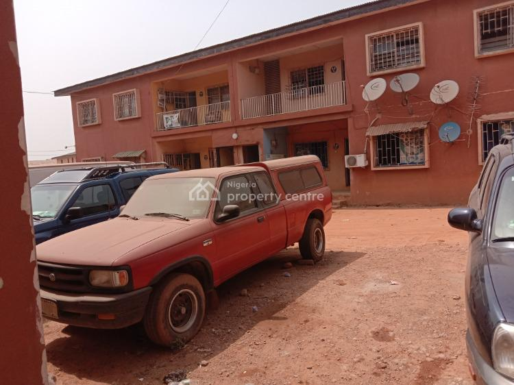 3 Numbers of 4 Flats of 3 Bedroom Each and 2 Blocks of 2 Rooms Self .contained, Iwo Road, Ibadan North-east, Oyo, Office Space for Sale