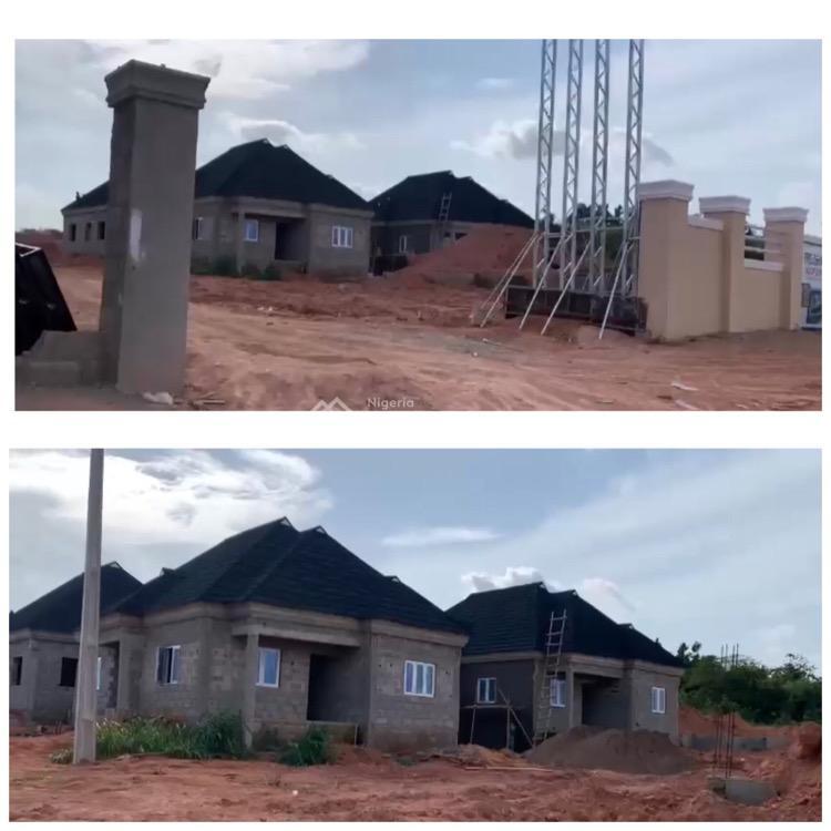 3 Bedroom Detached Bungalow (carcass), Treasure Hiltop Estate, D & D Junction, Off Ikola Road, Alagbado, Ifako-ijaiye, Lagos, Detached Bungalow for Sale