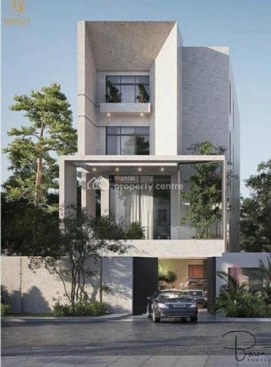 Fully Fitted 5 Bedroom House with 2 Living Rooms, Off Bourndillon, Old Ikoyi, Ikoyi, Lagos, Detached Duplex for Sale