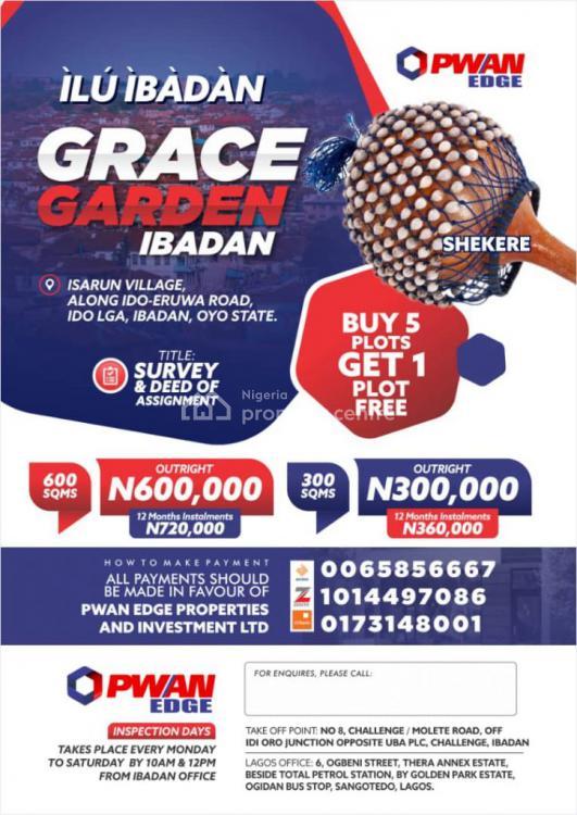 Affordable Plots of Land, Grace Garden Isarun Village Along Ido Lga, Ibadan, Oyo, Residential Land for Sale