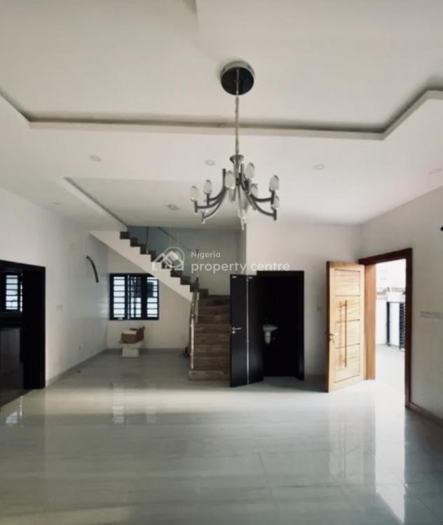 New 4 Bedroom Semi-detached Duplex + 1 Room Bq, Agungi, Lekki, Lagos, Semi-detached Duplex for Sale