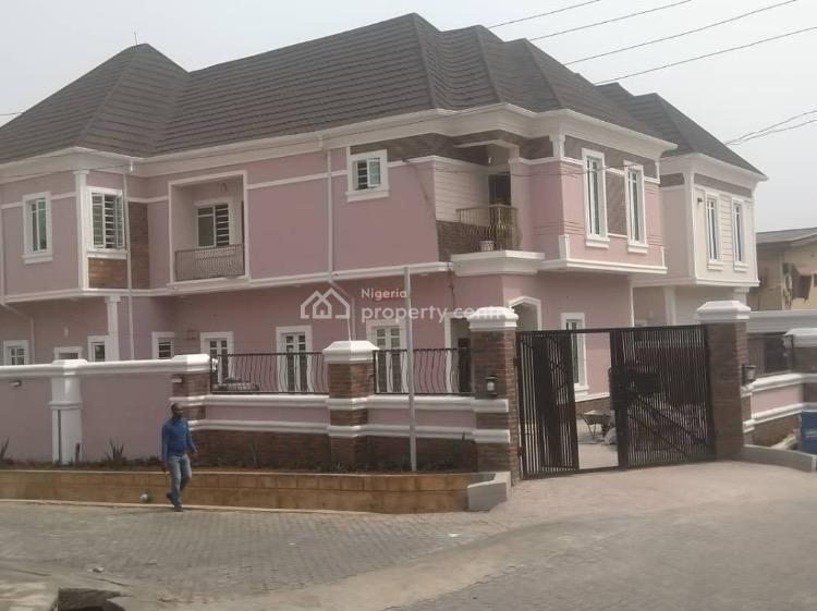 2 Units of 5 Bedrooms  Duplexes with a Room B/ Q Each., River Valley Estates Ojodu Berger., Ojodu, Lagos, Detached Duplex for Sale