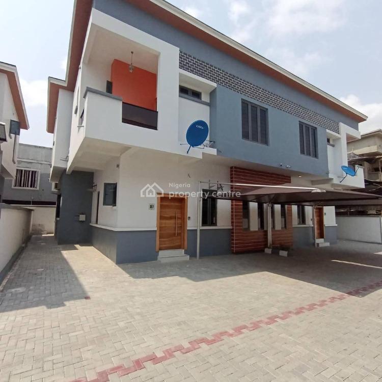 4 Bedroom Semi Detached Duplex, Chevron Drive Lekki Lagos, Lekki Expressway, Lekki, Lagos, Semi-detached Duplex for Sale