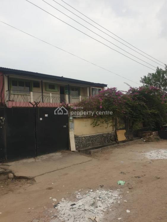 1,150sqm Land with 2 Units of Dilapidated Building on It, Off Adeniran Ogunsanya Street, Surulere, Lagos, Detached Duplex for Sale