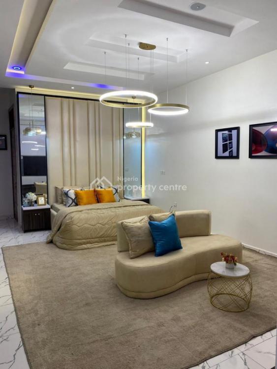 Luxury 4 Bedroom, Chevron, Osapa, Lekki, Lagos, Semi-detached Duplex Short Let