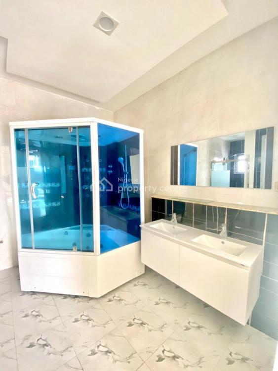 Newly Built 5 Bedroom Fully Detached Duplex with Pool and 2 Rooms Bq, Pinnock Beach Estate, Osapa, Lekki, Lagos, Detached Duplex for Sale