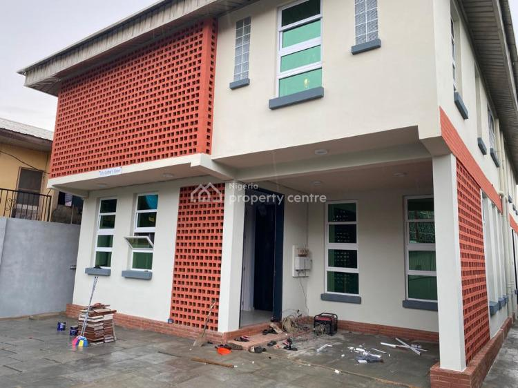 Executive & Luxuriously Finished 4 Bedrooms Fully Detached & 4 Units Room Self Contained, Fola Agoro, Yaba, Lagos, Detached Duplex for Sale