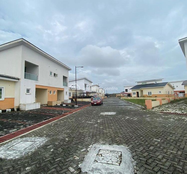 Carcass 4 Bedroom Semi Detached Duplex, Chevron, Lekki, Lagos, Semi-detached Duplex for Sale