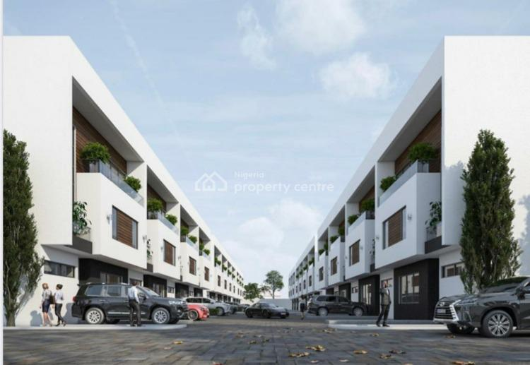 4 Bedroom Terrace Duplex, Off Admiralty Way Behind Dome, Lekki Phase 1, Lekki, Lagos, Terraced Duplex for Sale