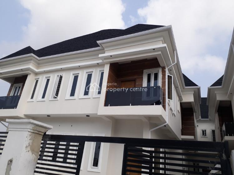 Exotically Finished 4 Bedroom Terraced Duplex with Bq, Beside Vgc, Lekki, Lagos, Terraced Duplex for Sale