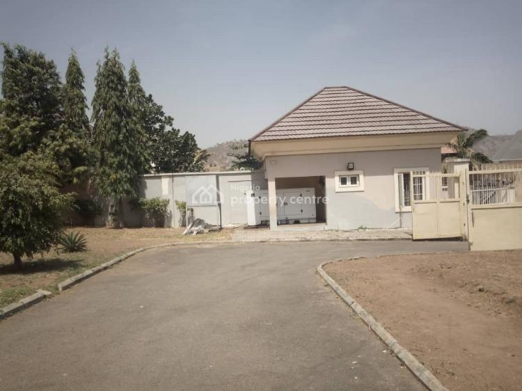 Well Finished  5 Bedroom Detach Duplex with 2 Bedrm Chalet & 2 Room Bq, Off Ibb Way, Maitama District, Abuja, Detached Duplex for Rent