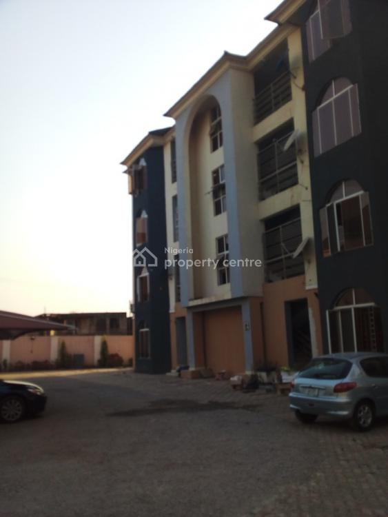 Well Finished Top-notch 3 Bedroom Flat Wit a Room Bq, Wuye, Abuja, Flat for Rent