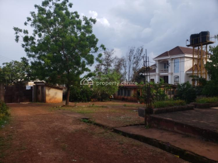 Strategic 4 Plots of Land with Old Duplex & Bungalow (cofo), Isiuzo Street Off Federal Government College, Independence Layout, Enugu, Enugu, Mixed-use Land for Sale