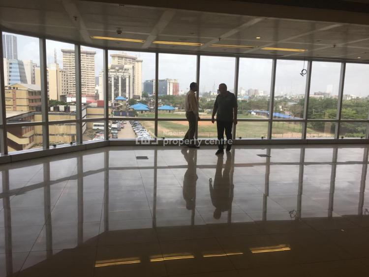 Open Plan Office Space - Grade a - 1,006sqm, Victoria Island (vi), Lagos, Office Space for Rent