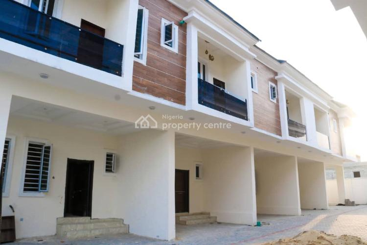 Contemporary Finished and Fitted 3 Bedrooms Terraced Duplex, Harris Crescent Road, By Vgc Estate, Vgc, Lekki, Lagos, Terraced Duplex for Sale