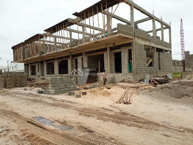3 Bedroom Terrace + Bq, Atlantic Layout Estates, Ajah, Lagos, Semi-detached Duplex for Sale
