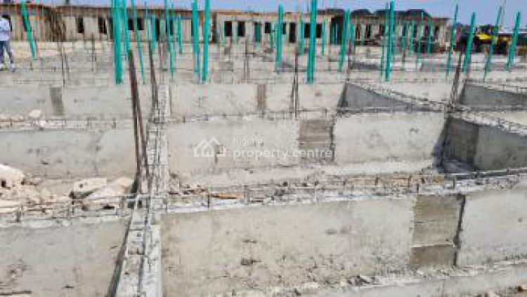 Premium Located Sets of 4 Bedroom Terraces, Orchid Road, Beside Victoria Crest Estate, Opposite V-dos Estate, Lekki, Lagos, Terraced Duplex for Sale