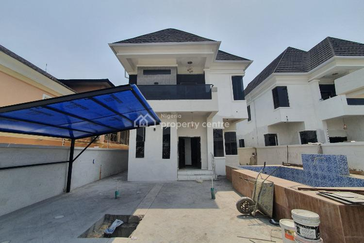 Impressive Brand New 5 Bedroom Detached House with Swimming Pool, Ajah, Lagos, Detached Duplex for Sale