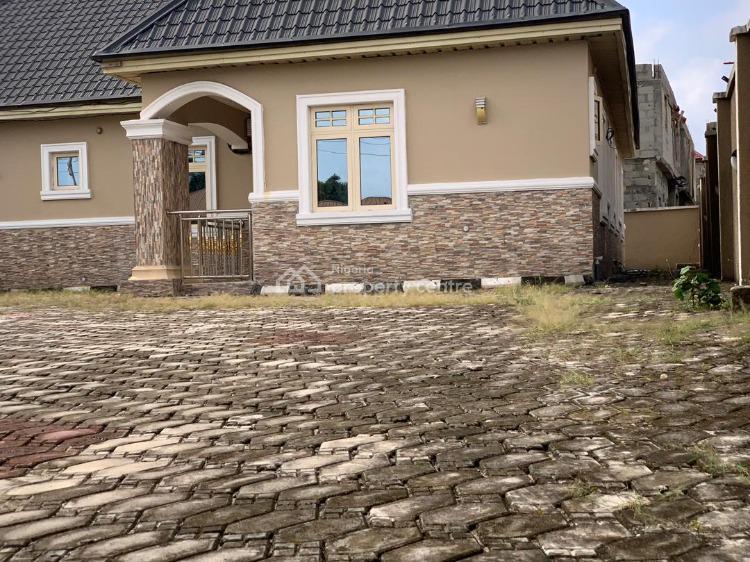 Newly Built 3 Bedrooms Bungalow with 1 Room Bq, Abule Baba Adisa, Eleko, Ibeju Lekki, Lagos, House for Sale
