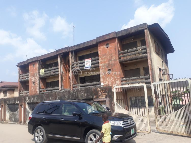 4 Nos 3 Bedroom Flats with Warehouse Space & Empty Space at The Rear., Olarenwaju, Akoka, Yaba, Lagos, Flat / Apartment for Sale