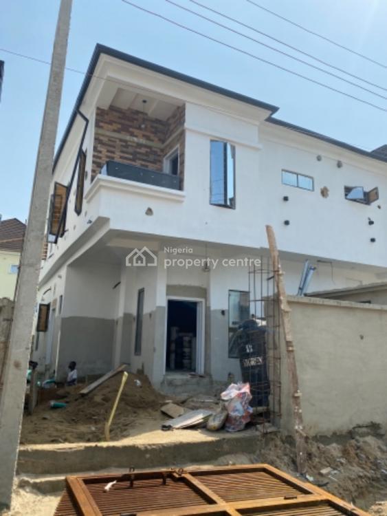 4 Bedroom Semi Detached Duplex with a Bq in a Lovely Secured Estate, Ikota, Lekki, Lagos, Semi-detached Duplex for Sale