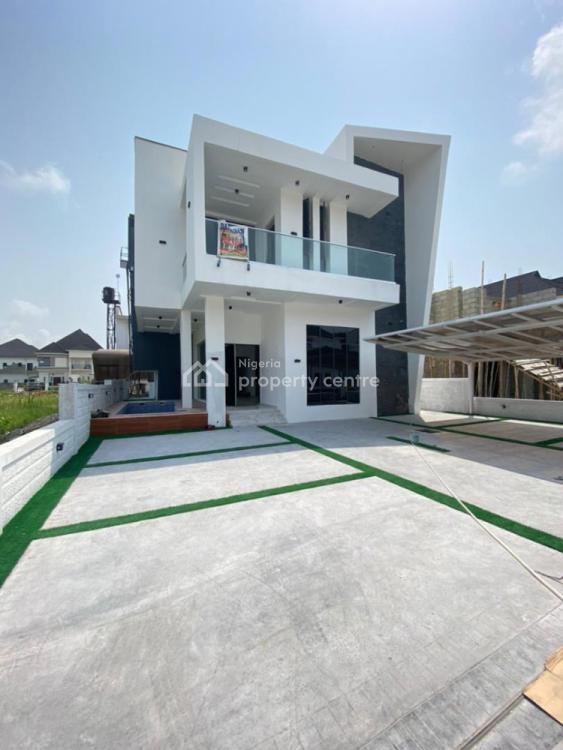 Exquisite 5 Bedroom Fully Detached Duplex with Bq Available, Lekky County Homes, Ikota, Lekki, Lagos, Detached Duplex for Sale