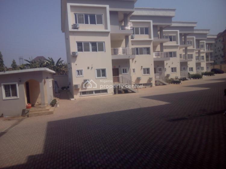 Newly Built 5 Bedroom Terrace Duplex with 1 Bq Each, Guzape District, Abuja, Terraced Duplex for Rent