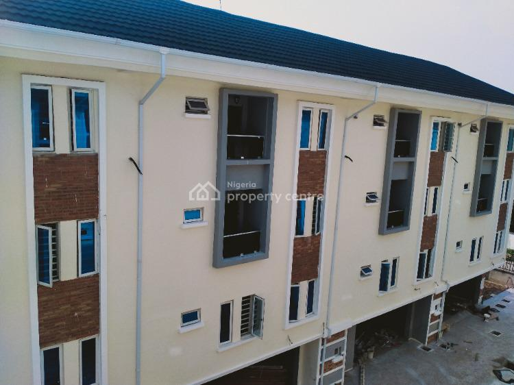 Beautiful 5 Bedroom with Bq Townhouse, Idado, Lekki, Lagos, Terraced Duplex for Sale