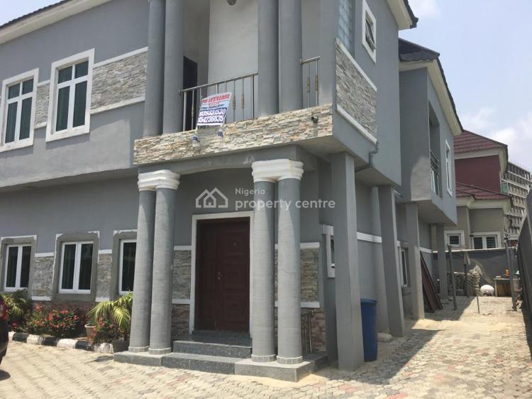 Lovely 5 Bedroom Detached House with Bq and Gate House, Opposite Mega Chicken, Ikota, Lekki, Lagos, Detached Duplex for Sale