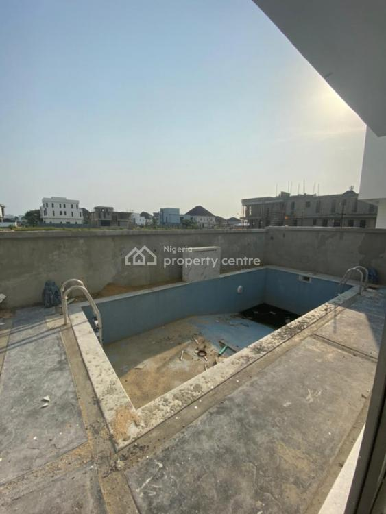 Luxury 5 Bedrooms Fully Detached Duplex House with Bq +swimming Pool, Pinnock Estate, Lekki, Lagos, Detached Duplex for Sale